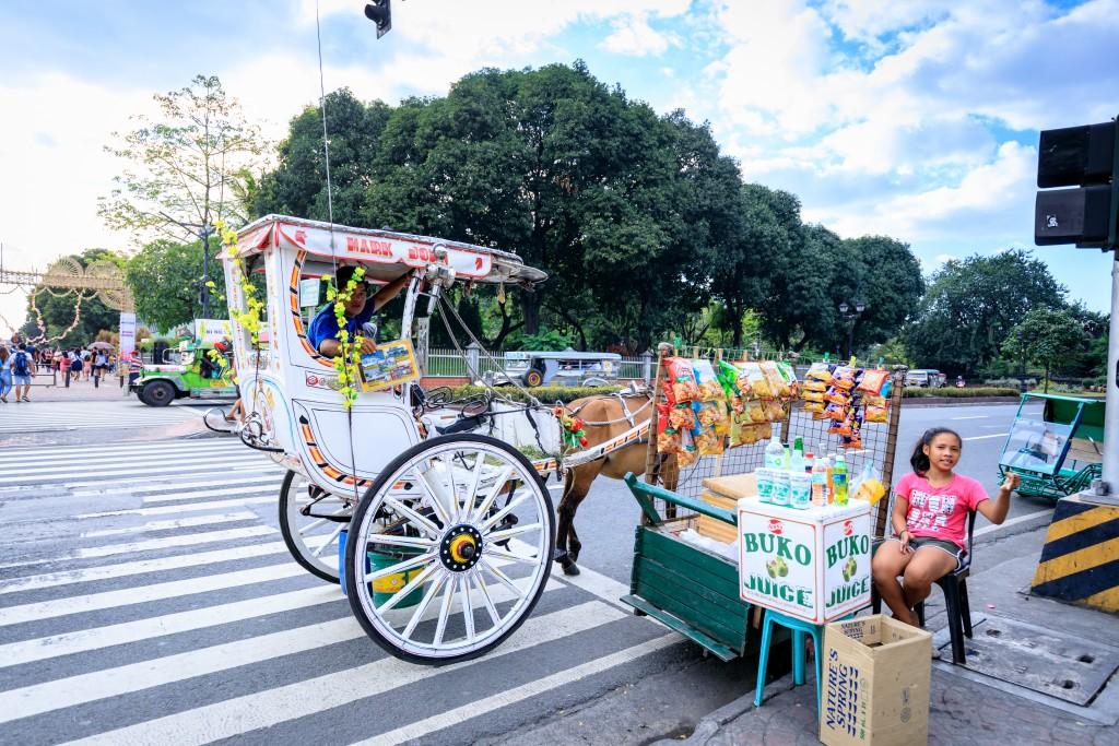 Usual scene in Manila