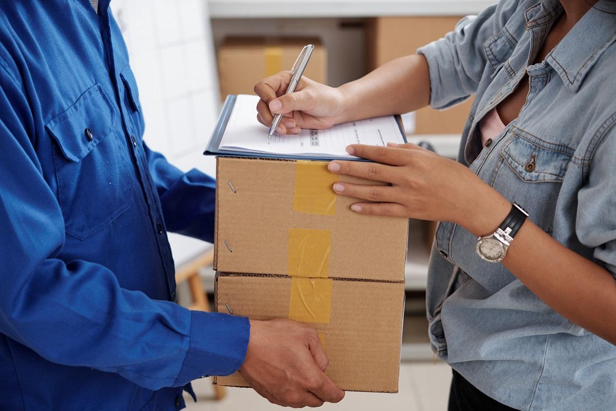 Receiving online order