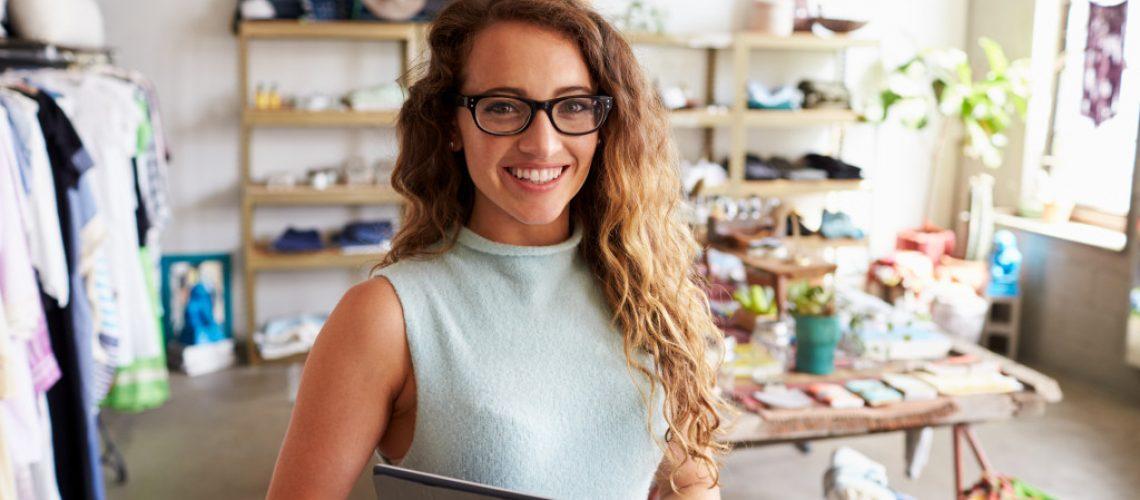 woman inside her office
